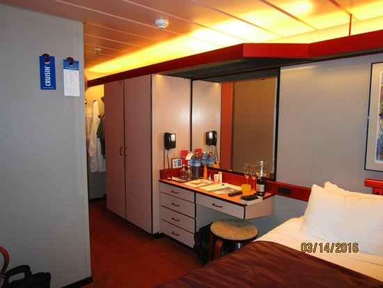 Carnival Paradise: Our cabin U136