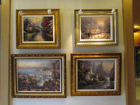Explorer of the Seas: art works