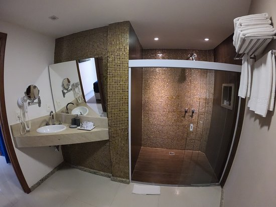 Este é o banheiro da categoria Deluxe