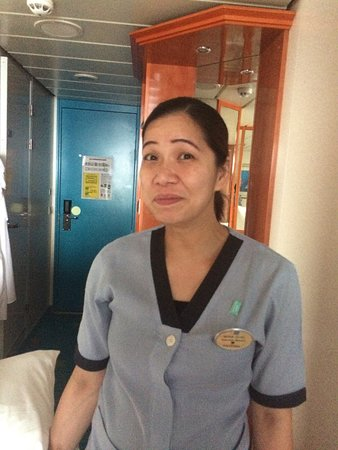 Norwegian Dawn: Maria, we never needed anything. Did a excellent job! Thanks