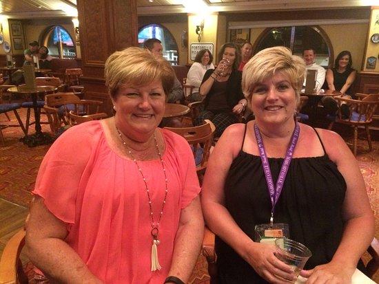 Norwegian Dawn: Sweetest ladies, we met on this cruise! :)
