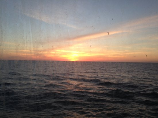 Vision of the Seas: Out last sunset