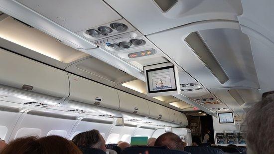Brussels Airlines: Dans l'avion