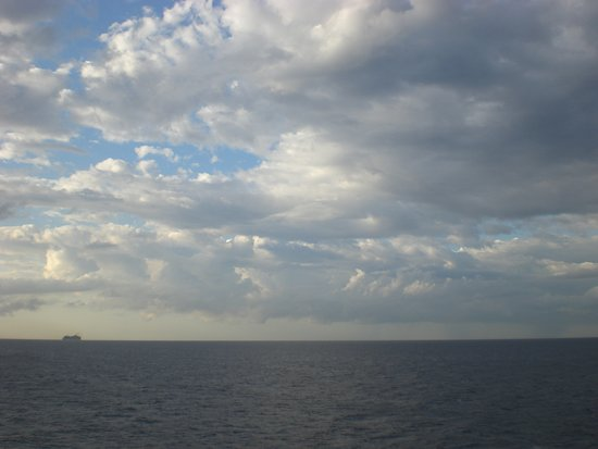 Carnival Victory: View from deck