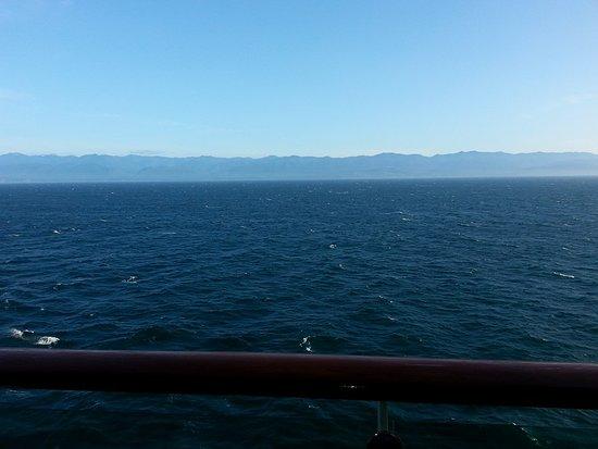 Explorer of the Seas: Balcony view in Victoria, BC