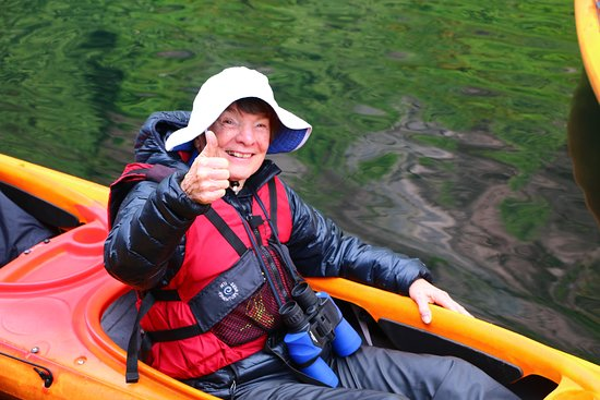Safari Quest: My pal Nancy, the happy kayaker