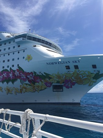 Norwegian Sky: The ship