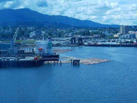 Celebrity Infinity: From our balcony in Nanaimo