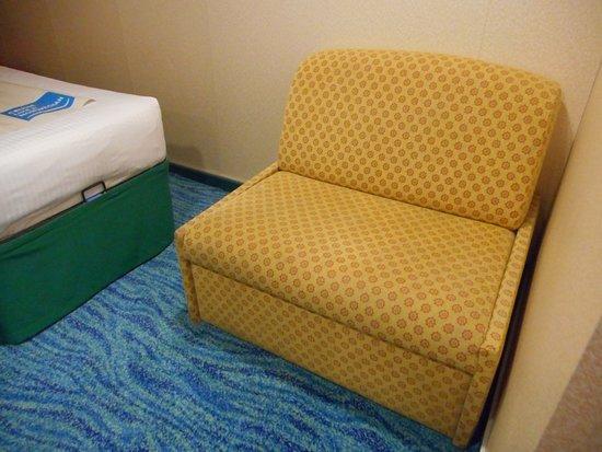 Norwegian Sun: Chair in my cabin