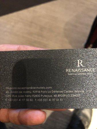 Renaissance Paris La Defense Hotel: The Renaissance Paris La Defence Hotel & Grand Arch