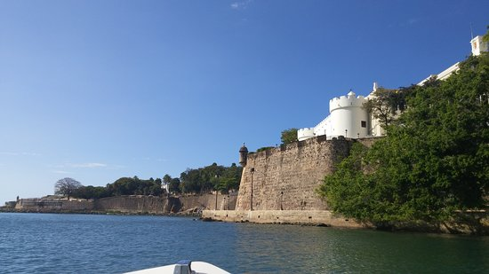 Navigator of the Seas: The view of Fort Morro from the San Juan Water Tours boat.