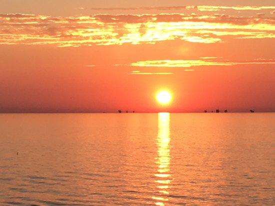 Celebrity Constellation: Sunset in the Adriatic sea