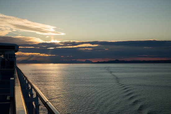 Star Princess: Sunset from the Lido Deck