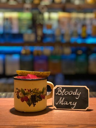Our signature 'Bloody Mary' - spicy and unforgettable