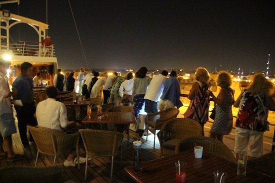 Wind Star: Port departure from Rhodes