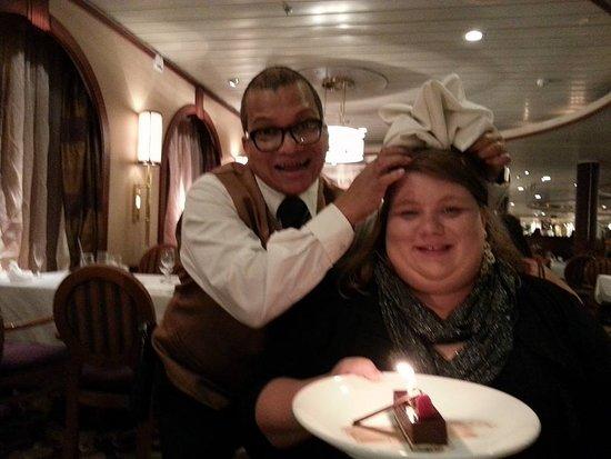 Majesty of the Seas: Formal Night celebrating my daughter's 30th birthday.