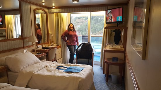 Star Princess: Our balcony cabin