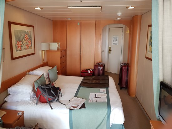 Aurora: Our home during the cruise - excellent.