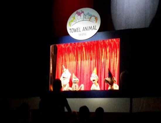 Carnival Triumph: The Towel Animal Theater - a really cute production highlighting the variou