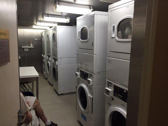 Maasdam: Laundry on my deck