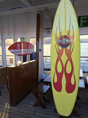 Carnival Imagination: Seating at the newly added Guy's burgers