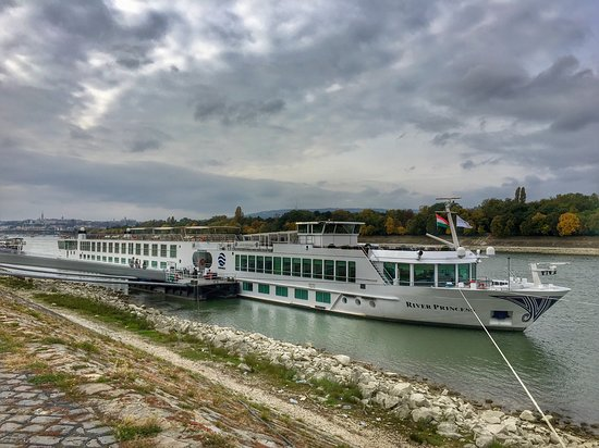 The River Princess - embarkation Budapest