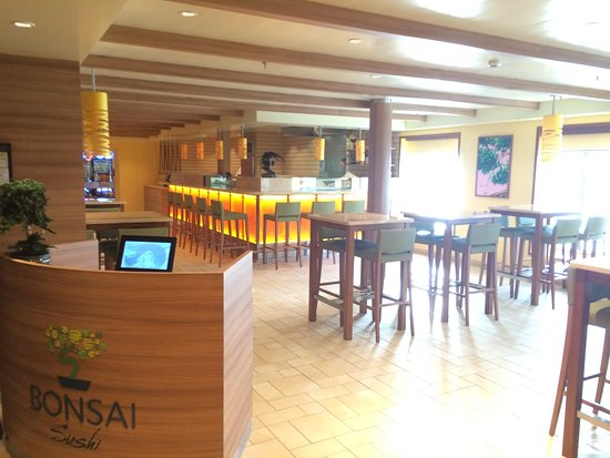Carnival Spirit: Bonsai Sushi - we enjoyed our lunch here one day, good value and well prese