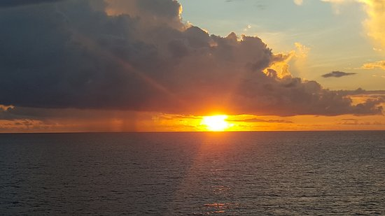 Carnival Fascination: Sunset from the Fascination