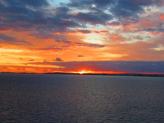 Norwegian Dawn: sunrise