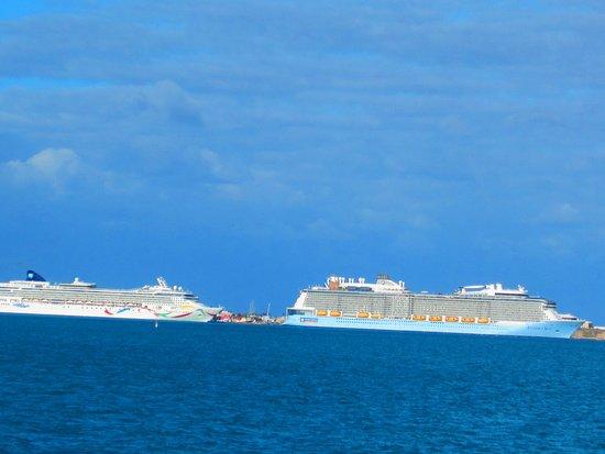 Norwegian Dawn: Heading to St. George