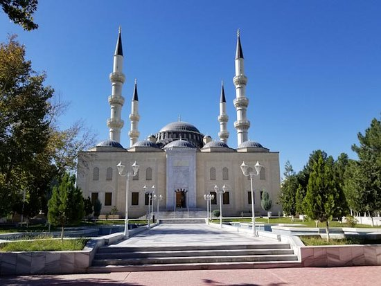 copy of the Blue Mosk of Istanbul - Ertugrul Gazi Mosque
