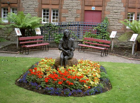 Campbeltown, UK: Linda mccartney memorial garden