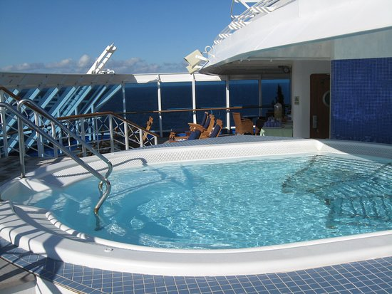 Pacific Princess: My favorite hot tub. Lotus Spa, wife cut a deal with them so we used their
