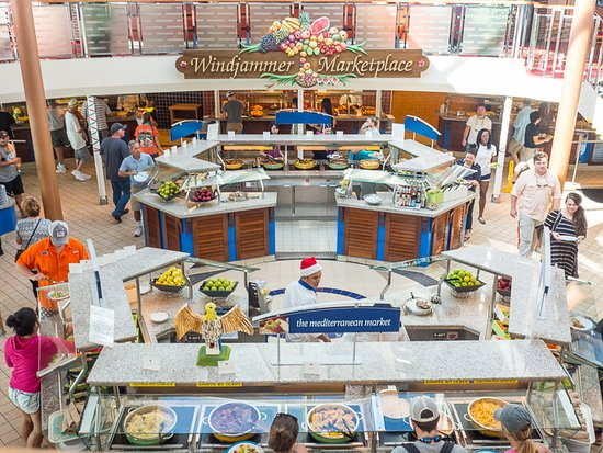 Majesty of the Seas: Buffet