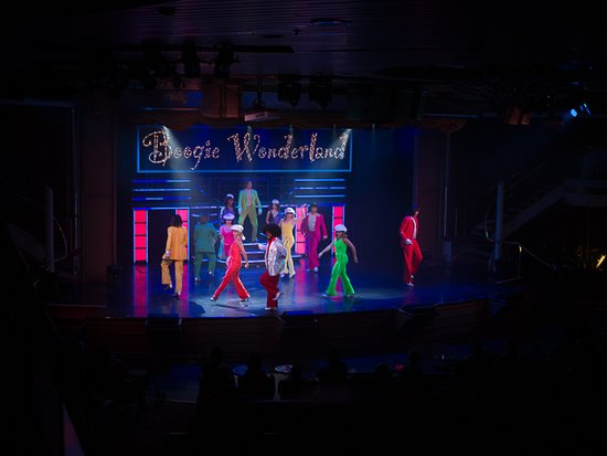 Majesty of the Seas: Boogie Wonderland Show