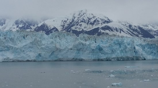 Celebrity Infinity: Hubbard Glacier