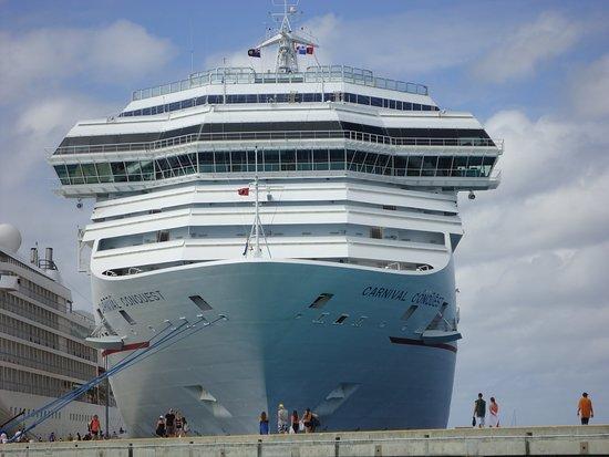 Carnival Conquest: Ship at Nassau, Bahamas