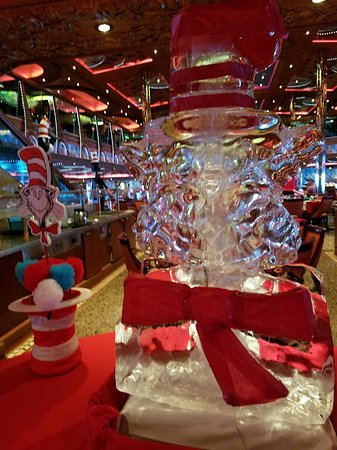 Carnival Conquest: Dr Suess Breakfast not to be missed!