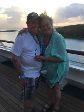 Carnival Glory: Sun set and pure happiness