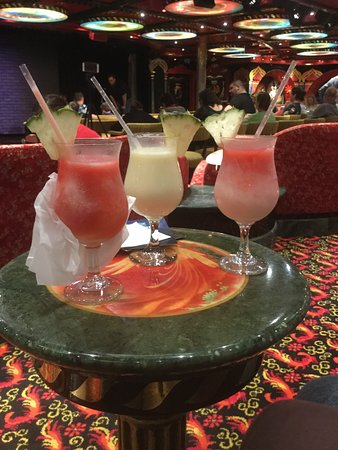 Carnival Legend: Cocktails at the Comedy Club