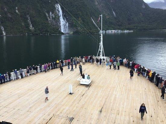 Maasdam: Milford NZ