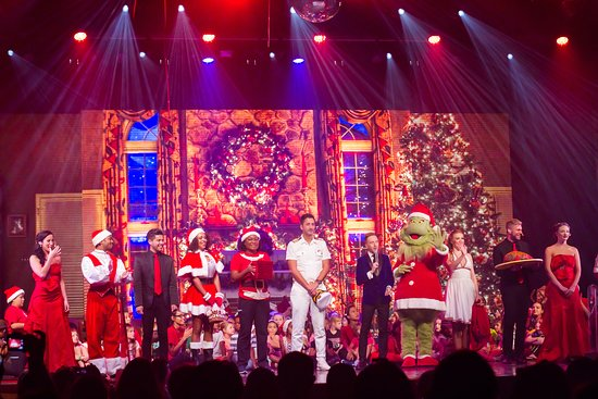 Christmas show on Carnival Glory. It was really good.