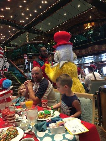 Carnival Triumph: Dr. Suess breakfast