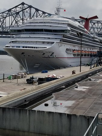 Carnival Triumph: Front of the ship