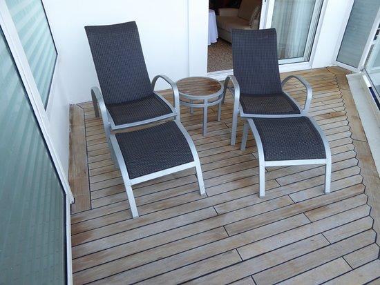 Celebrity Millennium: Balcony seating