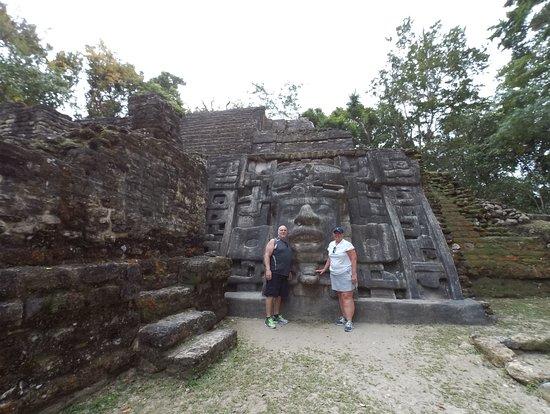 Carnival Glory: Lamanai Ruins Mask Temple