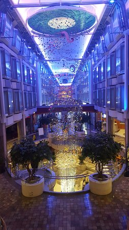 Navigator of the seas promenade.