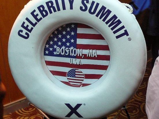 Celebrity Summit life ring