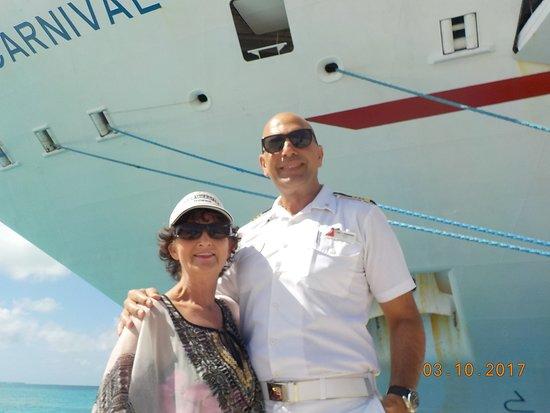 Carnival Conquest: El Capitan with Mom
