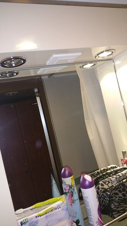 Carnival Ecstasy: Light out in bathroom